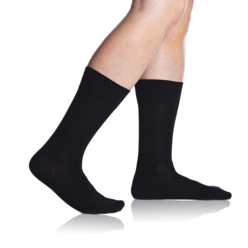 Bellinda Pánské ponožky Bambus Comfort - černá - 39/42