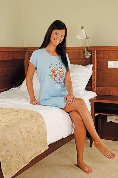Andrie Noční košile PS 9162 - smetanová - L