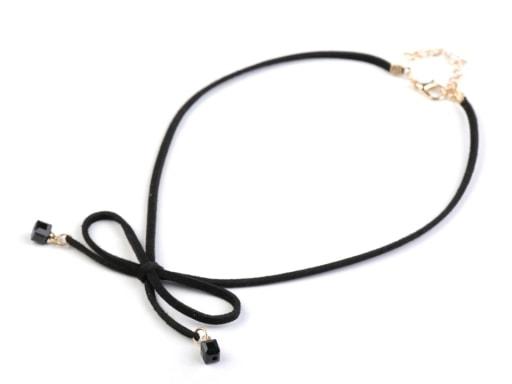 Stoklasa Náhrdelník choker / obojek s přívěsky - černá