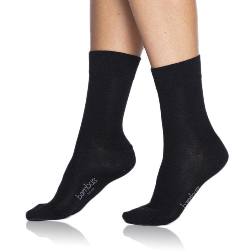Bellinda Dámské ponožky Bambus Comfort BE496862 - černá - 39/42