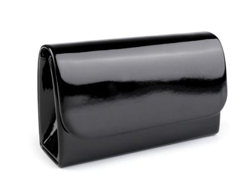 Stoklasa Kabelka - psaníčko lakované - černá