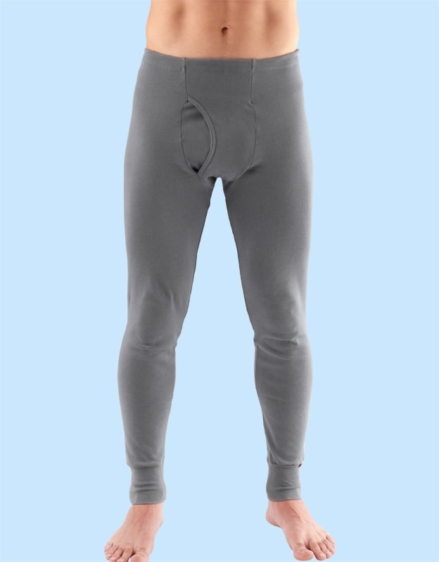 Gina Pánské spodní kalhoty 76000P bílá - bílá - XXL