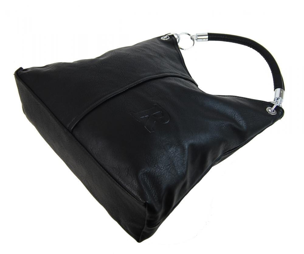Moderní velká kabelka přes rameno 3813-DE šedá - Demra - Bexis.sk 3f9a0219ab4
