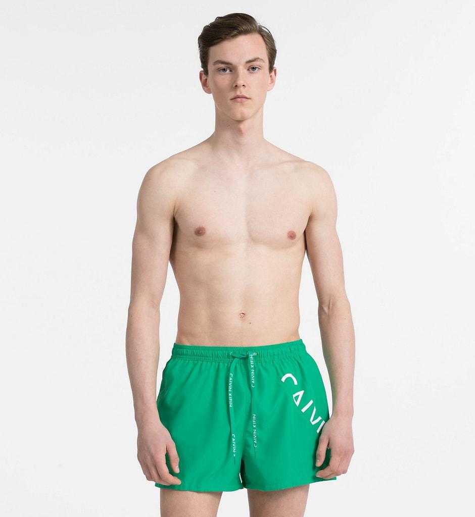 8ddf061ca Pánské plavky KM0KM00161-312 zelená ...