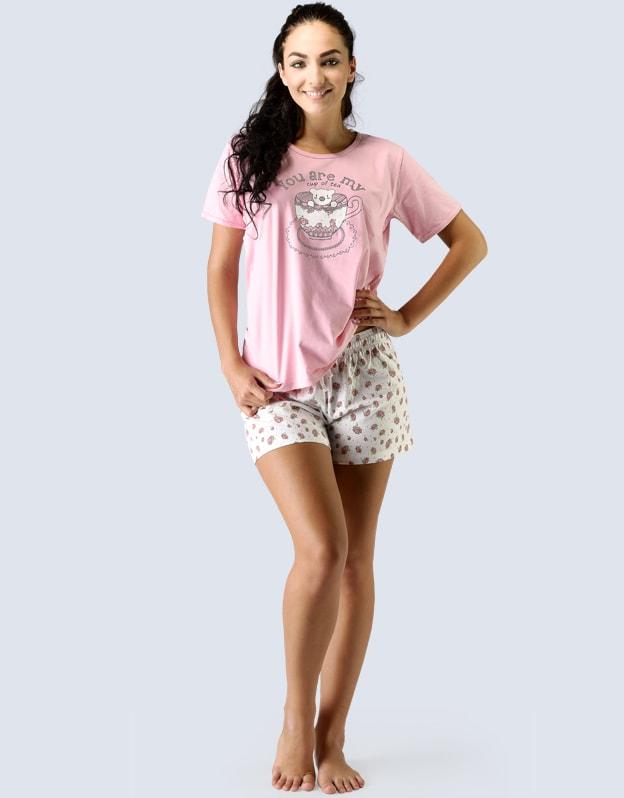 8f0d69b7c3f Pyžamo krátké dámské 19015P