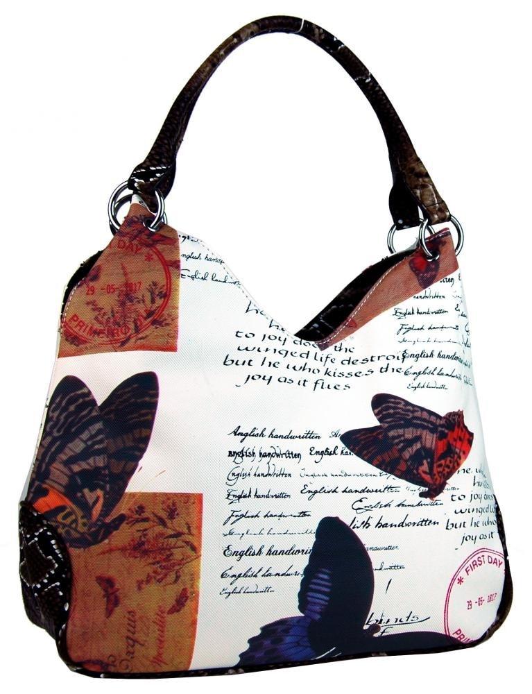 11414e7b19 Broušená červená kabelka na rameno M9001 - Tapple - BEXIS.cz