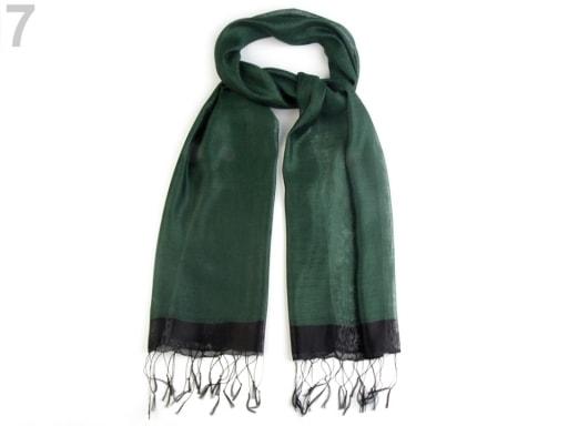Stoklasa Hedvábný šátek 70x175 cm - 7 olivová zeleň