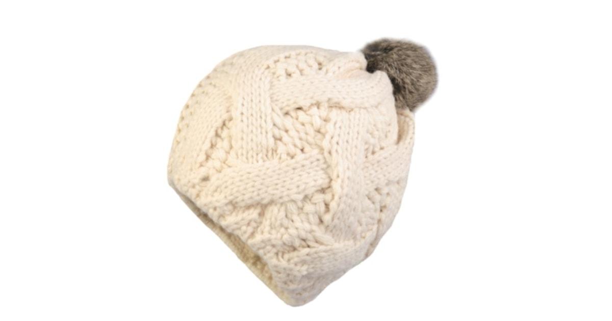 b5d70afedfc Dámská zimní čepice s pravou kožešinovou bambulí - Stoklasa - BEXIS.cz