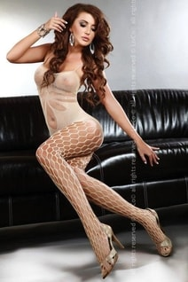 Bodystocking Artemida beige
