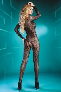 Bodystocking Abra black