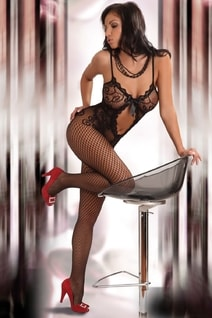 Bodystocking Magali black