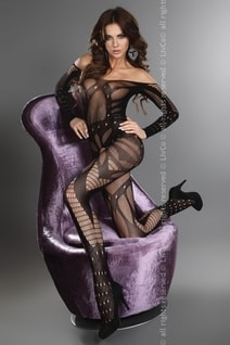 Bodystocking Hassiba black