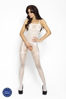 Bodystocking BS006 white