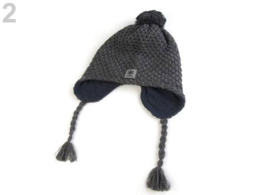 dd621571209 Chlapecká zimní čepice Capu s reflexními prvky Zvětšit. Previous  Next