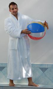 Pánský župan Denis bílý 21 20 0100