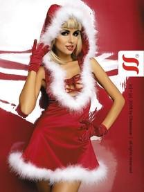 Vánoční kostým Santa Lady dress