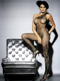 Erotické bodystocking F203