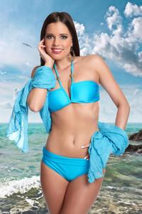 Dvoudílné plavky Samanta