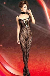 Bodystocking 2550008 Spitzencatsuit