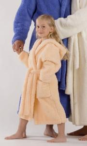 Dětský župan Lyra s kapucí