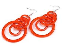 Náušnice kroužky (1 pár)