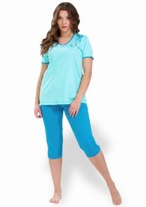 Dámské pyžamo s capri kalhotami Brygida