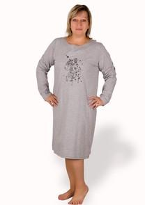 Dámská košile nadměrné velikosti gepard