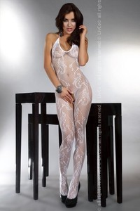 Bodystocking Eden white
