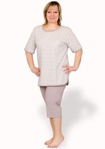 Dámské pyžamo Boženka nadměrné velikosti