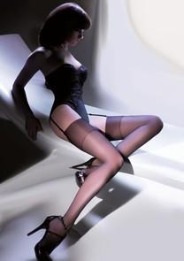 Punčochy na podvazky Cher 226 Gabriella