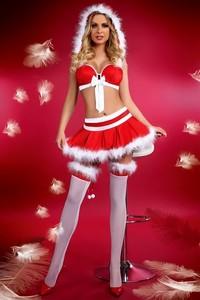 Vánoční kostým Little Miss Christmas