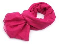 Šátek s glitry 115x175 cm