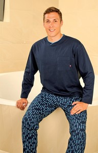 Pánské pyžamo PS 9198