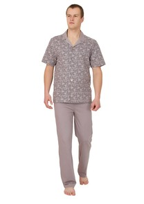 Pánské propínací pyžamo Konrad