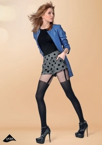 Dámské vzorované punčochové kalhoty Sally