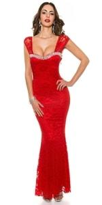 Červené plesové šaty in-sat1200re