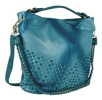 Unikátní kombinovaná kabelka 3091 modrá