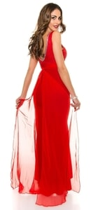 Šaty na ples s vlečkou in-sat1206re