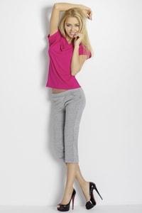 Dámské pyžamo Erna pink-grey