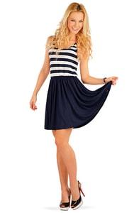 Proužkované letní šaty 86327