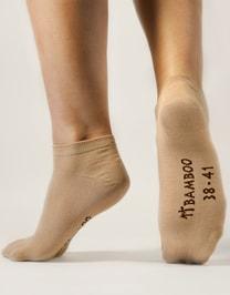Dámské kotníčkové, Bambusové ponožky 82002P
