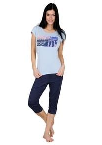 Dámské pyžamo capri kalhoty 60/2-57C Venice