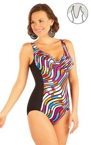 Jednodílné plavky s kosticemi 88212