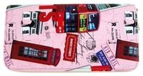 Moderní peněženka s motivem Paříže T519 růžová