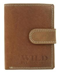 Celokožená pánská peněženka WILD 992 světle hnědá