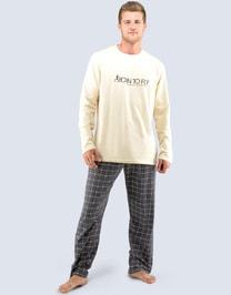 Pánské dlouhé pyžamo 79031P