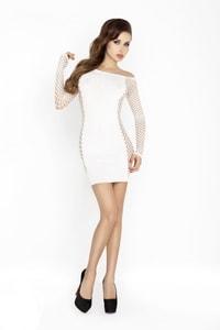 Erotické šaty BS025 white