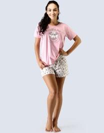 Pyžamo krátké dámské 19015P
