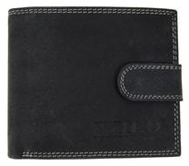 Pánská peněženka z broušené kůže 995 tmavě šedá