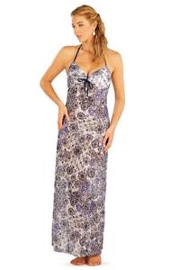 Šaty dámské dlouhé. 93678